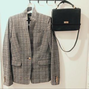 J. Crew Glen Plaid Regent Blazer
